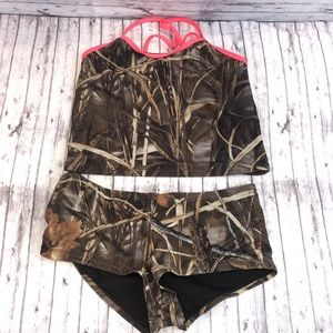 Other - 5/$20 Youth XL 14/16 Camo Print Tankini Swimsuit